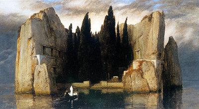 Böcklin - Toteninsel (third version, 1883)